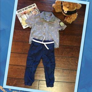 Toddler Boys H&M Cargo Pants & Top